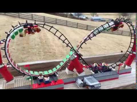 Dragon Infinity Loop Lego Roller Coaster