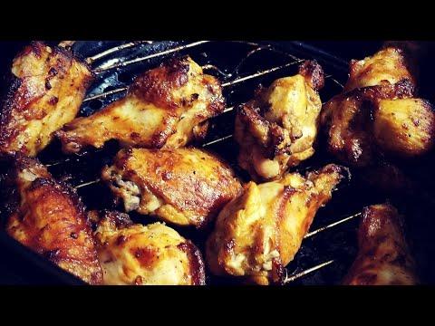 From Frozen Pre-Seasoned Air Fryer Chicken Wings Cooks Essentials AirFryer