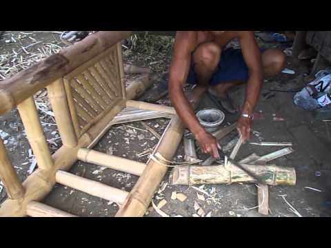 Bamboo Furniture in the Philippines - A Kubo Kit 2 of 2