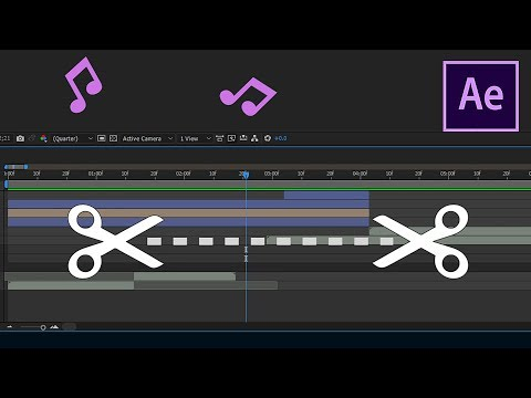 How Trim or Cut Out Audio in After Effects CC