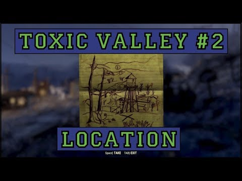 Fallout 76 | Toxic Valley Treasure Map #2 LOCATION!