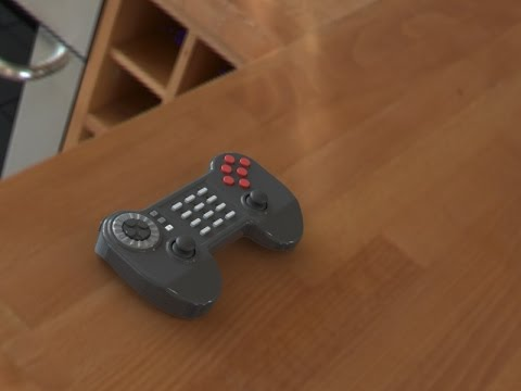Prototype Universal Game controller - Built in Spinner and twin analog