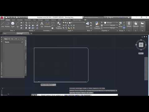 Making a Bag Tag with AutoCAD