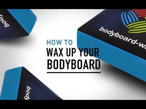How to wax a bodyboard? - Bodyboard-School