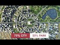 Quarter City   Cities: Skylines Easy Layout in 2 Hours (Timelapse Build)