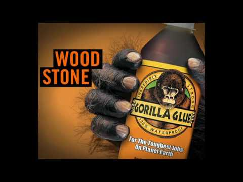 Industrial Strength Gorilla Glue - Use with Caution