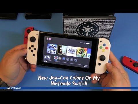 New Joy-Con Colors On My Nintendo Switch