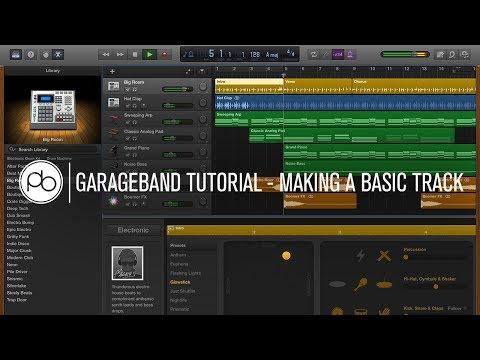 Garageband Tutorial: How to Make a Basic Track