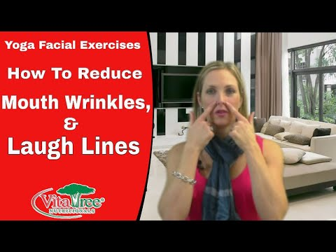 Yoga Facial Exercise : How to Reduce Mouth Wrinkles, Laugh Lines - VitaLife Show Episode 126