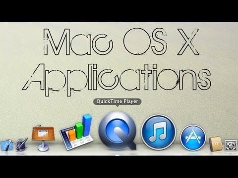 Mac OS X | QuickTime Player (Record Mac screen free!)