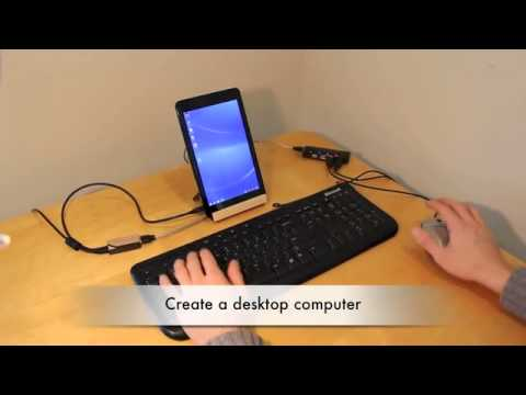 Using the +port with the Dell Venue 8 Pro for USB and Charging at the same time