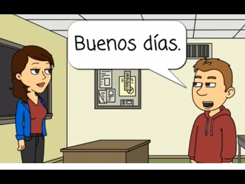 Spanish Lesson 1: Greetings