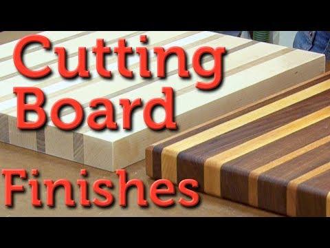 Cutting Board Finish