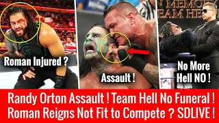 Roman Reigns Not Coming On Raw ? Randy Orton Assault ! WWE Smackdown 17 July 2018 Highlights 7/17/18