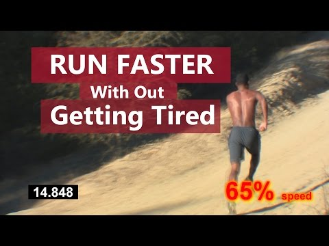 How to Run Faster: Without Getting Tired - Hill Workout