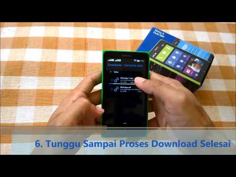 Tips & Tricks: Install WhatsApp di Nokia X