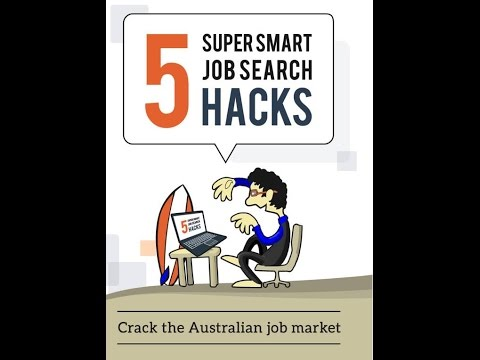Learn how to find a job in Australia with no 'local experience'   FREE Webinar
