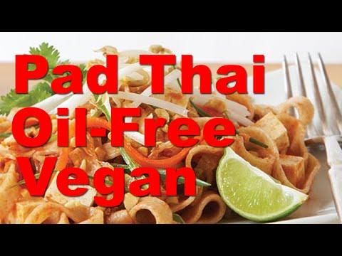 Vegan Pad Thai (Oil-Free) in Under 10 Minutes - RawTill4