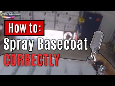 How To Spray Basecoat Correctly - Custom Paint on Daihatsu Mini Truck