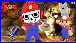 Spelunker World MARIO IMPOSTOR WITH A PUPPY Let