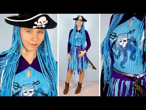 DIY UMA COSTUME from Descendants 2 🧜♀️ DRESS + WIG + ACCESORIES