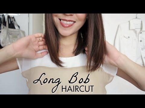Long Bob Haircut Tutorial! How to Cut Your Own Hair | LynSire