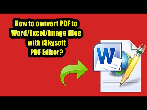 iSkysoft PDF Editor Professional-Convert PDF to Word/Excel/Image & Scanned PDF to Editable One