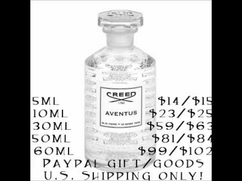 NEW AVENTUS PRICES (To reflect Creed's recent price increase)
