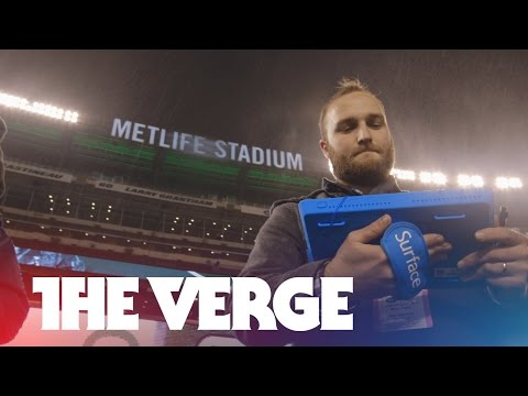 Hands-on with the NFL's Surface Pro 2 tablets