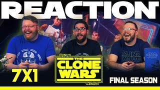 """Star Wars: The Clone Wars 7x1 REACTION!! """"The Bad Batch"""""""