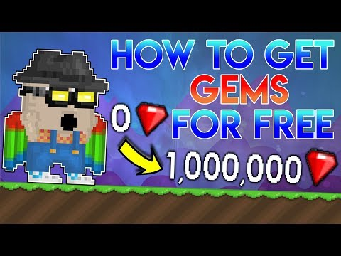Growtopia -- HOW TO GET GEMS FOR FREE *MUST WATCH*
