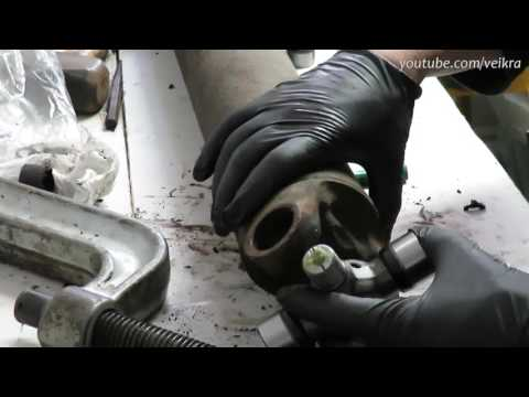 Replacing Rear U-joint on duramax