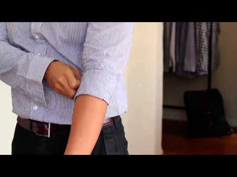 How To Roll Up Your Shirt Sleeves (effectively)