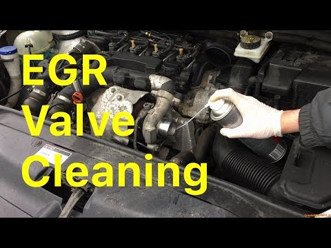 How To Clean an EGR Valve Without Removing It