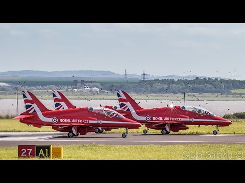 The Red Arrows at Liverpool Airport | 07-08-2016