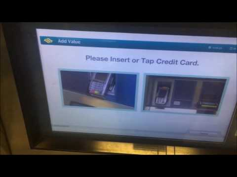 Singapore MRT EZ Link Credit Card Top Up