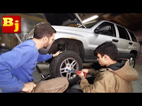 Jeep WJ Project - My New Years Resolution Challenge to You!!