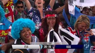 Fiji win big at Cape Town Sevens - Match Day Highlights