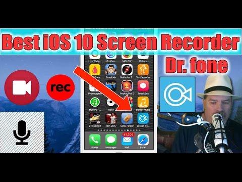 Dr. Fone iOS 10 - 10.3 Screen Recorder: Nice iOS Screen Recorder