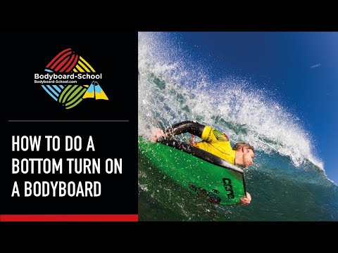 How To Bottom Turn - Bodyboard-School