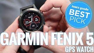 Best Pick: Garmin Fenix 5 GPS Watch
