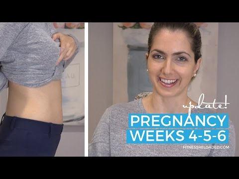 Pregnancy weeks 4-5: Early symptoms, morning sickness, exercise during pregnancy.