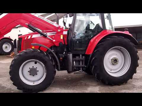 Massey Ferguson 5480 c/w MF 955 loader
