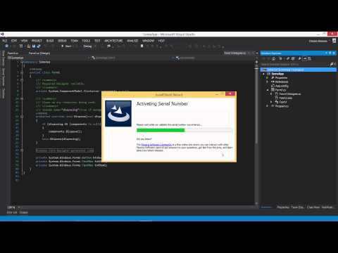C# exe project - Visual Studio 2013 (Create Setup Project)