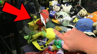 YOU HAVE NEVER SEEN A CLAW MACHINE WIN LIKE THIS!!! (NEVER DONE BEFORE)   ClawBoss
