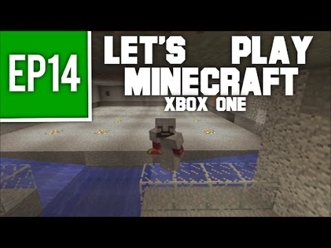 Let's Play Minecraft Xbox One - EP14: Beginnings of Slime Farming!