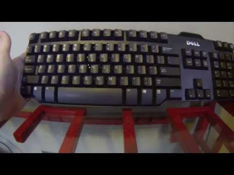 How to Take Apart and Clean a Desktop Keyboard - How a Keyboard Works