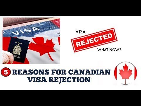 Top 5 Comman Reasons for Canadian Visa rejection ?