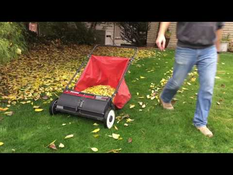 Craftsman Leaf and Lawn Sweeper Part 1