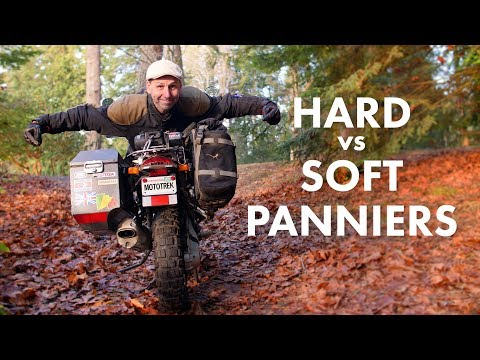 Hard or Soft Adventure Panniers - Which is Best